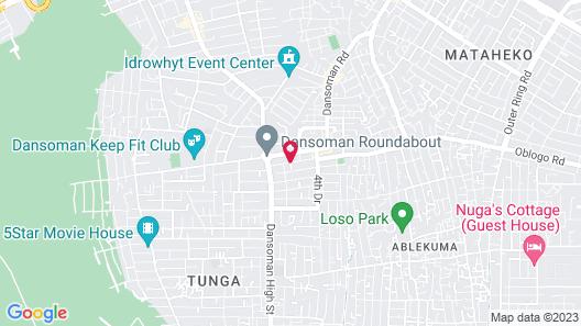 Kegali Hotel Map