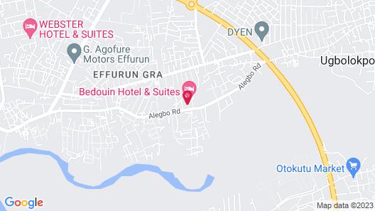 Bedouin Hotel & Suites Map