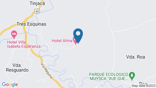 Hotel Alma Map