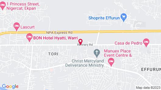 Kayriott Hotel & Suites Map