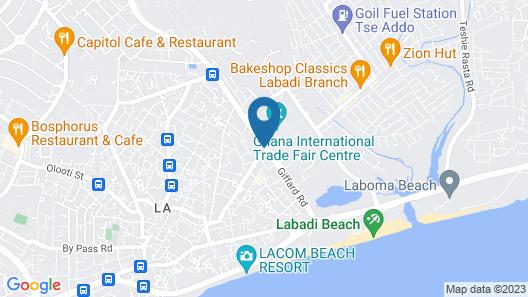 Asa Royal hotel Map