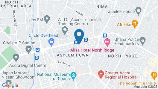 Pink Hostel Map
