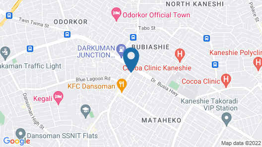 Faculty(GH) Apartments & Hostels Map