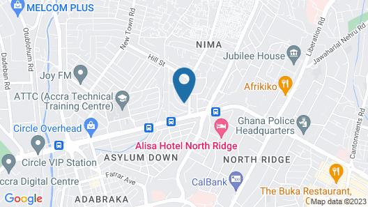 Agoo Hostel Map