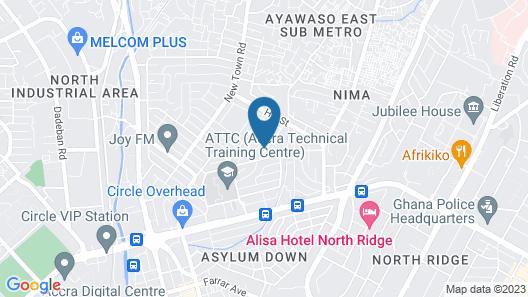 Somewhere Nice - Hostel Map
