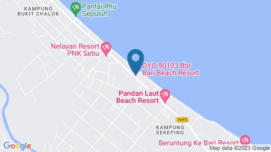 OYO 90103 BBR Bari Beach Resort Map