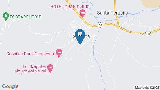 Hotel Villa Alegria  Map