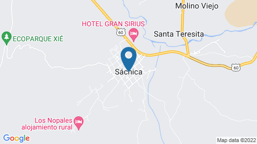 Casa Completa Villa de Leyva Luguianga Map