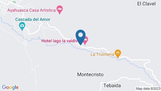 Hostería La Valdivia Map