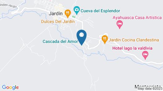 Charco corazón Map