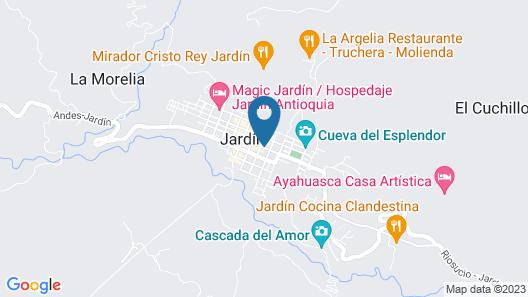Casa Passiflora Hotel Boutique Map