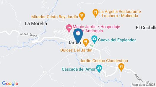 Hotel La Casona Jardin Map
