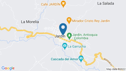 Hostal Jardin Map