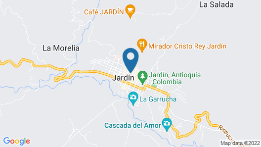 Hotel Jardin Antioquia Map