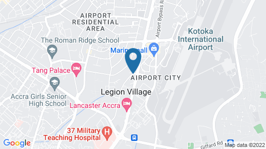Hotel Obama Map