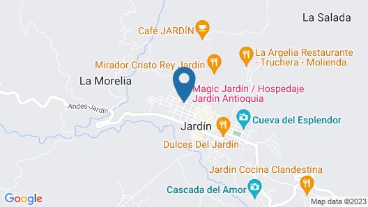 Luxural Jardín EcoHotel Map