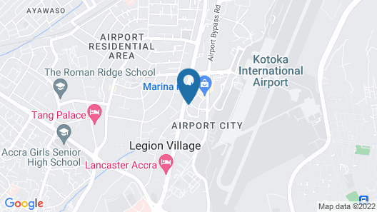 Ibis Styles Accra Airport Map