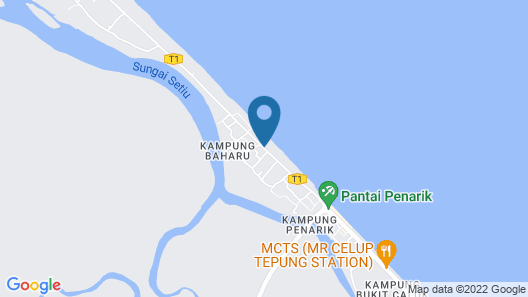 Bayu Beach Penarek Map
