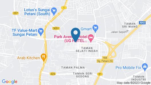 Purest Hotel Sungai Petani Map