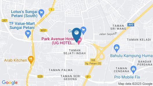 Park Avenue Hotel Map