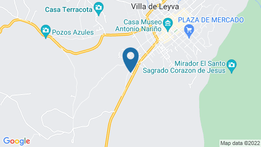 Hostal Campestre El Huerto Map
