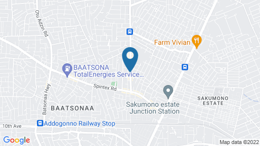 Afrikiko Turkish Restaurant & Guesthouse Map