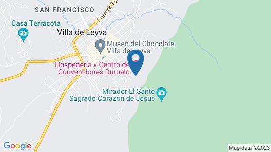 Hospederia Duruelo Map