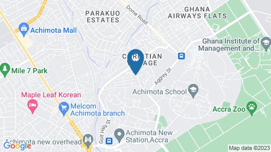 Mendiata Hotel Map