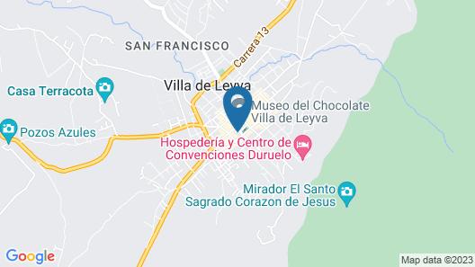 Hospedaje Mandalas Map