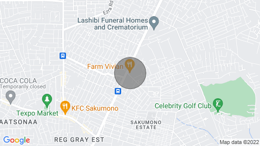 Lashibi Residence - Bedroom 2 Map