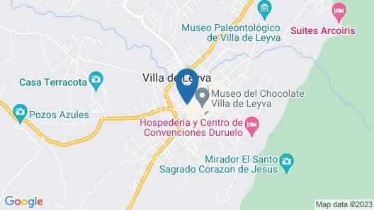 Hotel Solar de la Villa Map