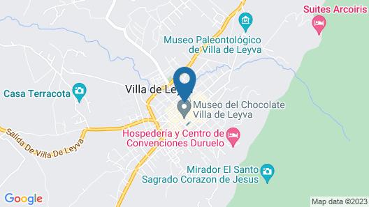 Hospederia La Fuente Map