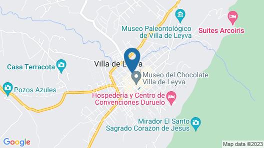 Hotel Campanario de la Villa Map