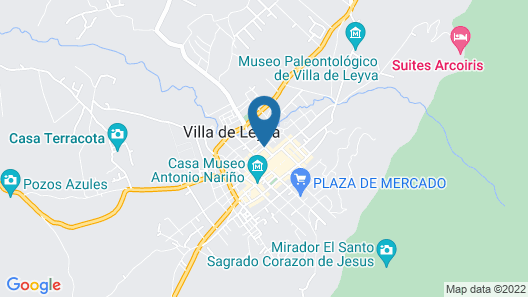 Casa Gabriel Map