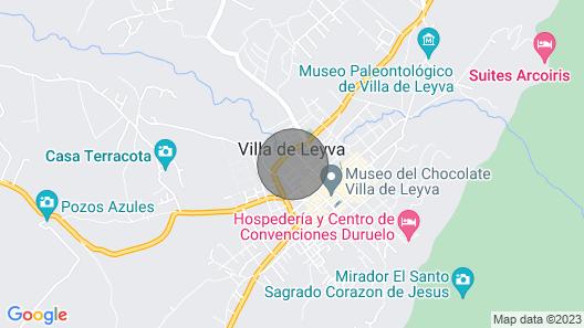 Casa San Agustin 025 Map