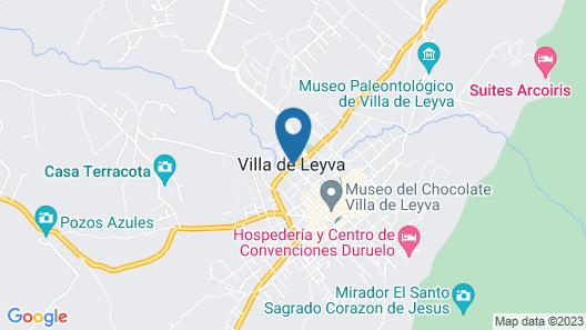 Hospedería Villa de Los Saenz Map