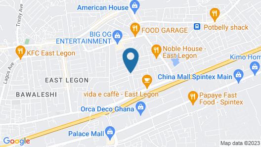 JBK Hostels Jungle Road Map