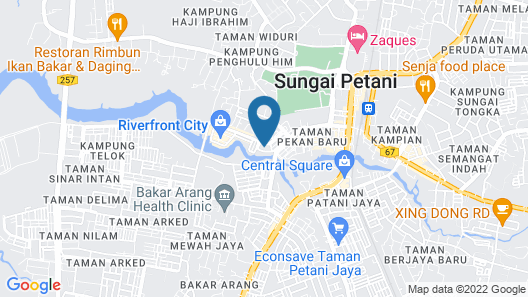 LUCKY HOTEL Map
