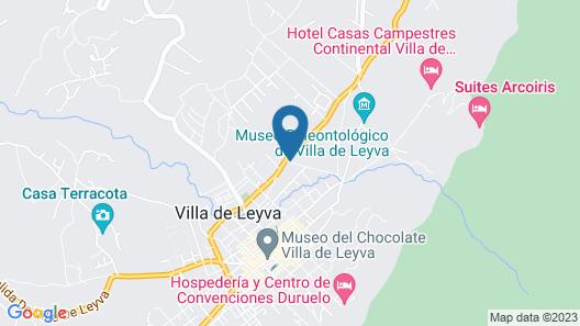 Hotel El Giro Map