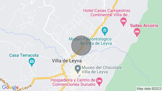 Comoda y Acogedora Casa Gioroc Map