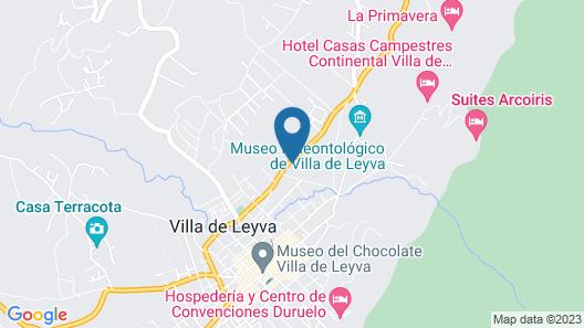 Hotel Spa Villa Lina Map