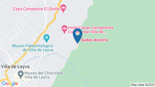 Suites Arcoiris Map