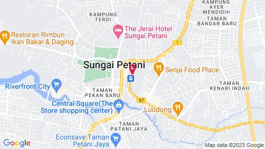 Hotel Seri Malaysia Sungai Petani Map