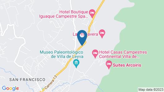 Hotel Iguaque Campestre Spa & Ecolodge Map