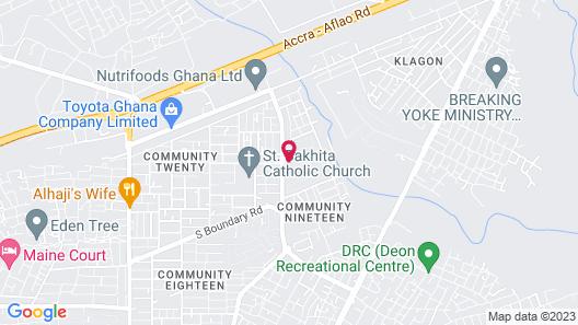 My Choice Hotel Map