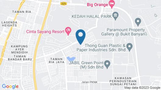 UNYK Homestay Map