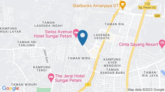 OYO 943 3Gs Hotel Map