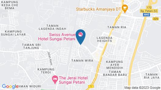Sastria Hotel Map