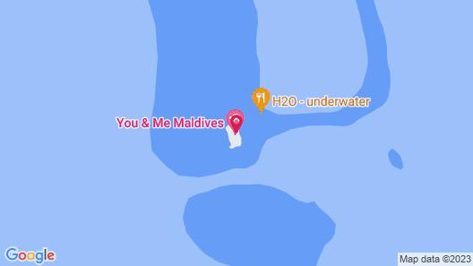 You & Me Maldives Map