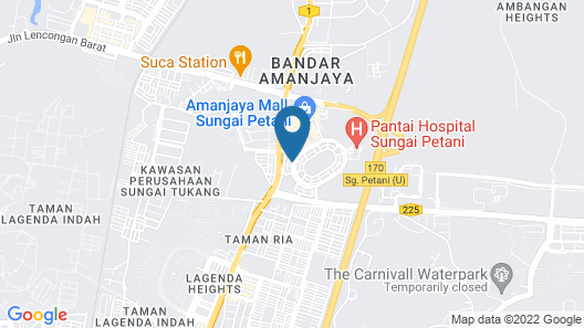 OYO 89710 Saujana CT View Hotel Map